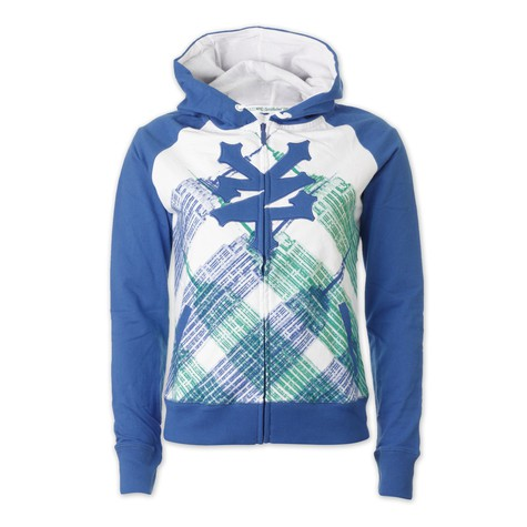 Zoo York - Plaid Scape Women Zip-Up Hoodie