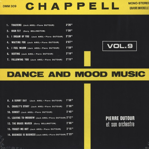 Pierre Dutour / Jack Arel - Dance and Mood Music Volume 9