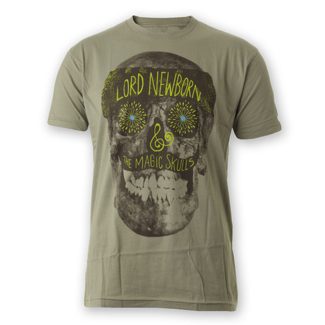 Lord Newborn & The Magic Skulls (Money Mark, Shawn Lee & Tommy Guerrero) - Lord Newborn T-Shirt