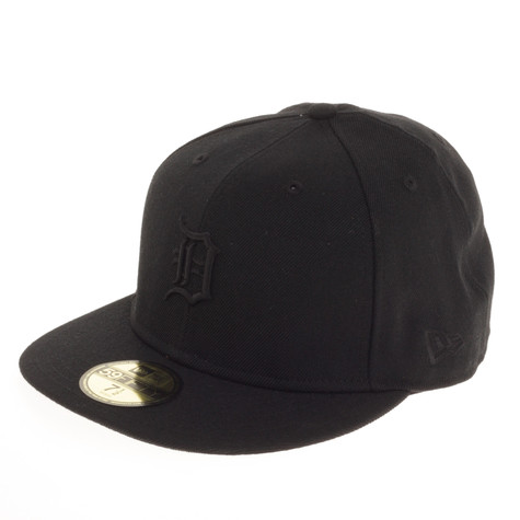 New Era - Black On Black Detroit Tigers Cap