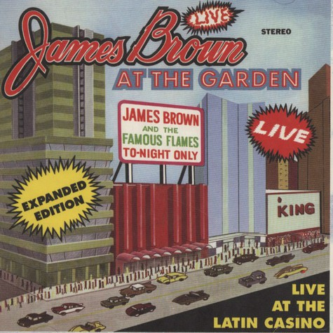 James Brown        - Live At The Garden Expanded Edition