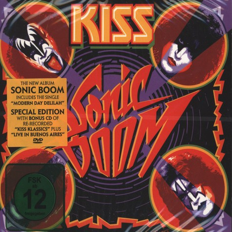 Kiss - Sonic Boom Limited Edition