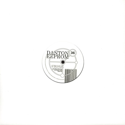Danton Eeprom - Scoring Only To Be On The Safe Side EP