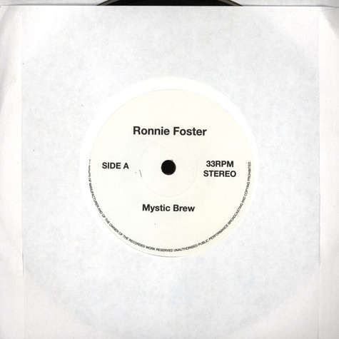 Ronnie Foster / Ramp (Roy Ayers Music Project) - Mystic Brew / Daylight