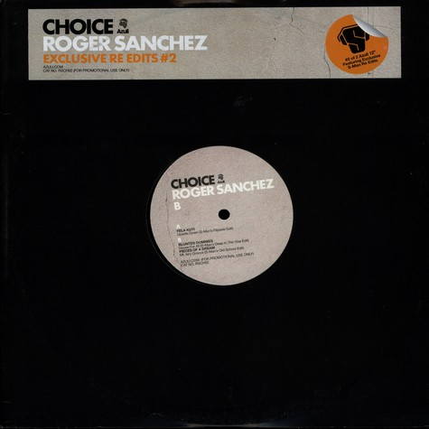 Roger Sanchez - Choice re-edits volume 2