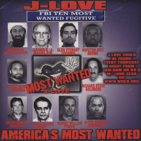 J-Love - America's Most Wanted