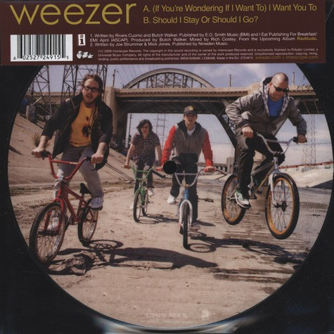 Weezer - (If You Are Wondering If I Want To) I Want You To
