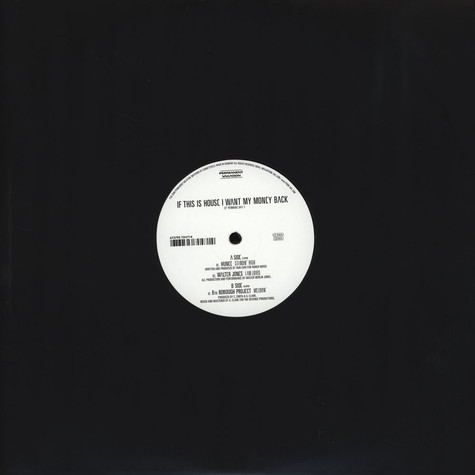 Hunee / Walter Jones / 6th Borough Project - If This Is House I Want My Money Back Sampler