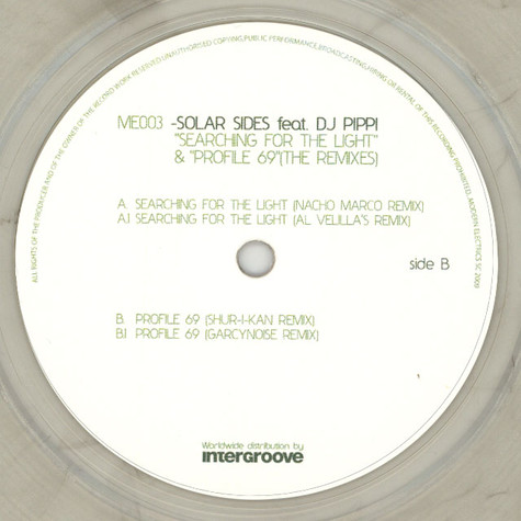 Solar Sides - Searching For The Light & The Profil 69 The Remixes