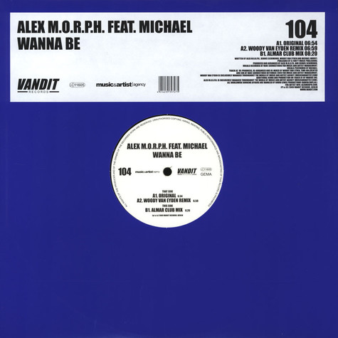 Alex M.O.R.P.H. - Wanna Be feat. Michael