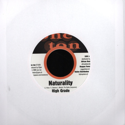 High Grade / The Dubby Conqueros - Naturality / Version