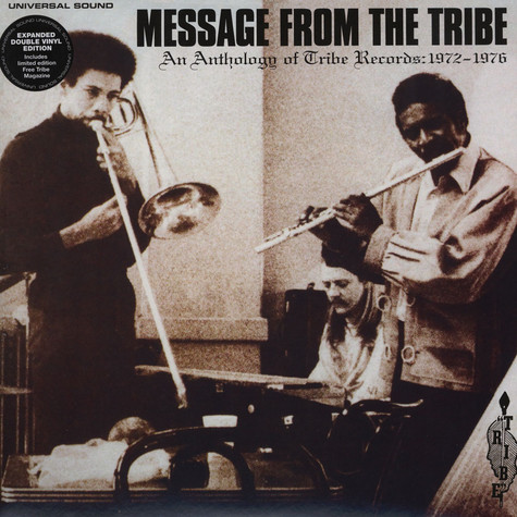 Message From The Tribe - An Anthology of Tribe Records:1972-1977
