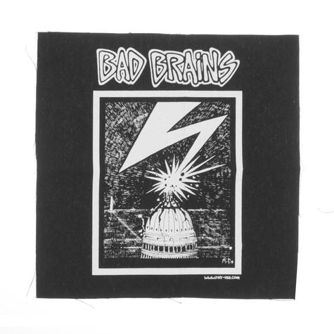 Bad Brains - Capital Back Patch