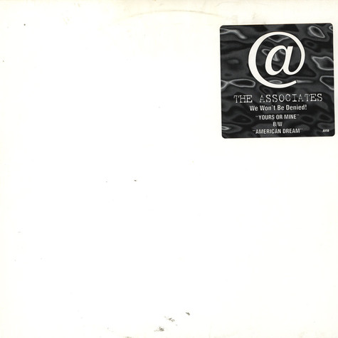 Associates - Yours or mine