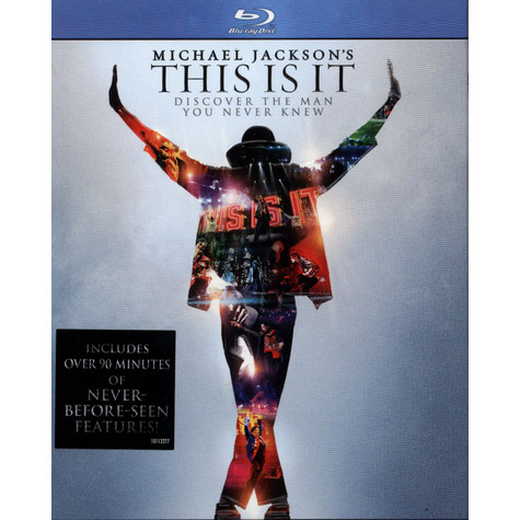 Michael Jacksons - Michael Jacksons This Is It - Blu-Ray Disc