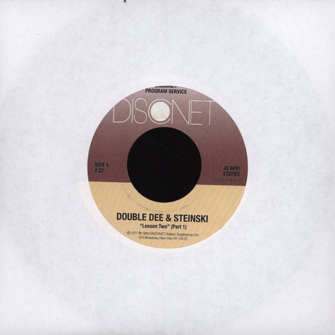 Double Dee & Steinski - Lesson Two Part 1&2