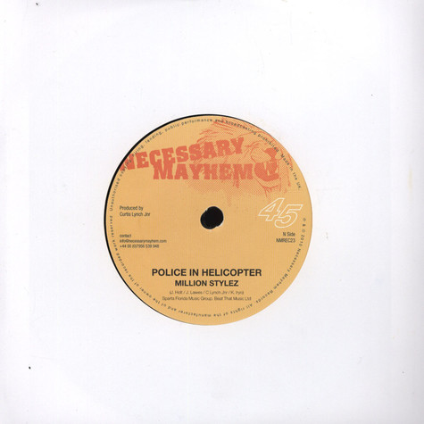 Million Stylez / Maikal X - Police In Helicopter / Get Away