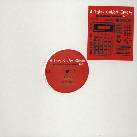 A Tribe Called Quest - Rare & Unreleased Instrumentals Volume 2