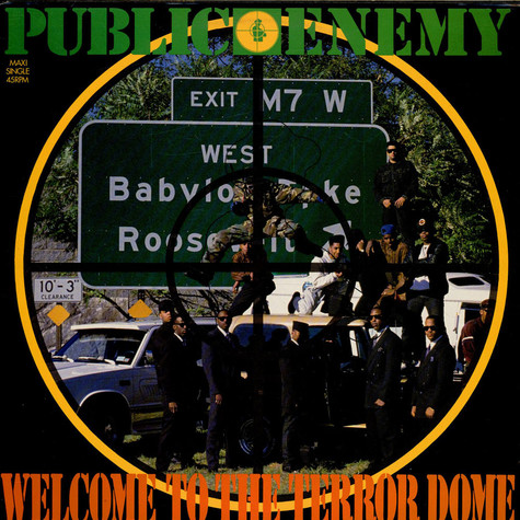 Public Enemy - Welcome To The Terrordome