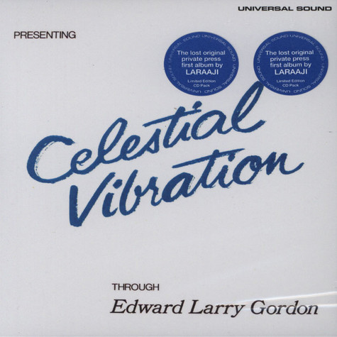 Edward Larry Gordon (Laraaji) - Celestial Vibration