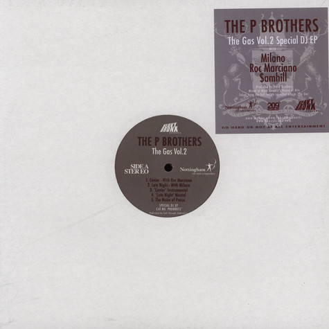 P Brothers - The gas EP Volume 2
