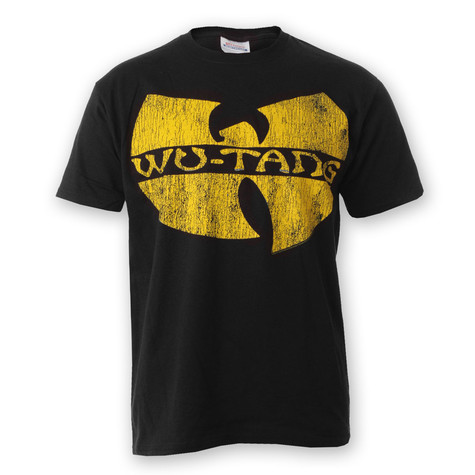 Wu-Tang Clan - Distressed Logo T-Shirt