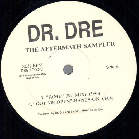 Dr.Dre - Aftermath sampler