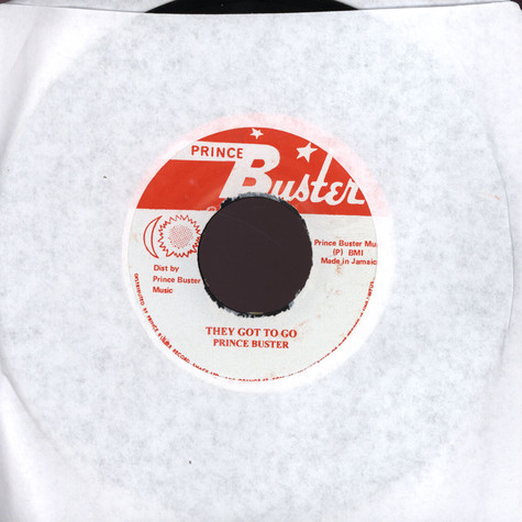 Prince Buster - They Got To Go
