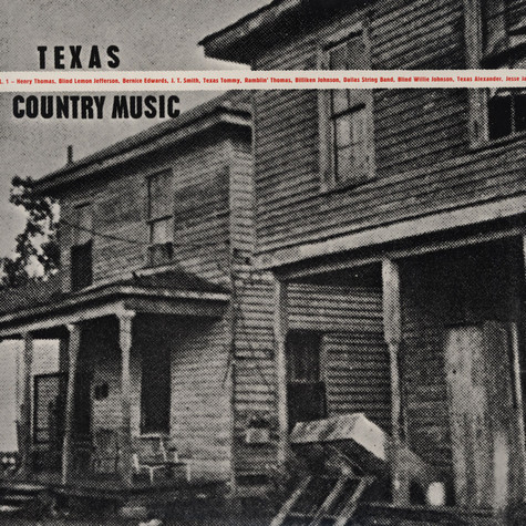 V.A. - Texas Country Blues Music Volume 1