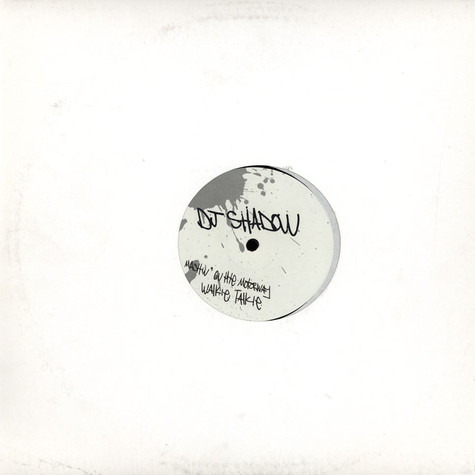 DJ Shadow - Selection from the private press