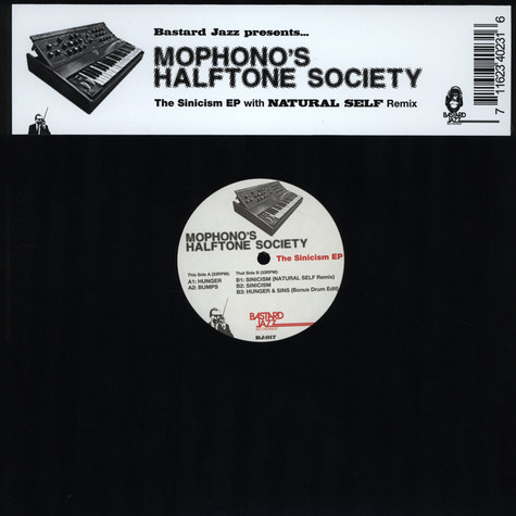Mophono's Halftone Society - The Sinicism EP