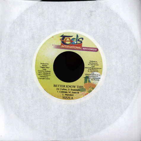 Queen Ifrica / Sizzla - Nine Out Ten / Better Know This