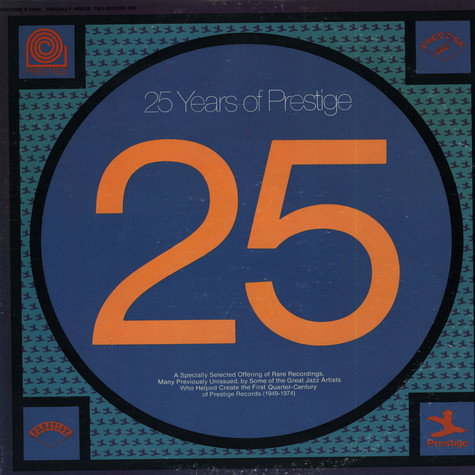 V.A. - 25 Years Of Prestige
