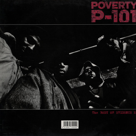 Poverty P-101 - Body Of Evidence EP