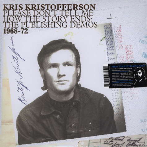 Kris Kristofferson - Please Don't Tell Me How The Story Ends: The Publishing Demos 1968-1972