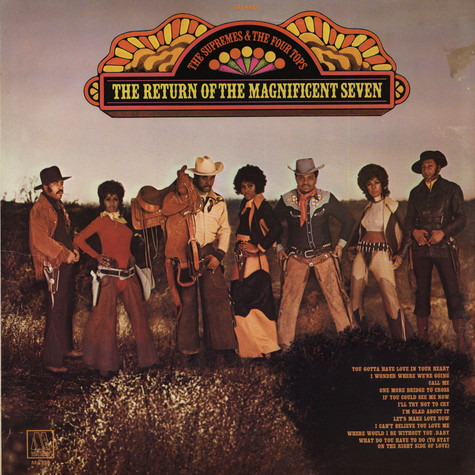 Supremes, The & The Four Tops - The Return Of The Magnificent Seven