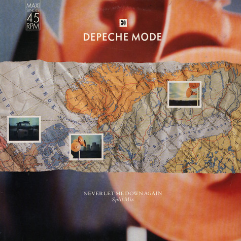 Depeche Mode - Never Let Me Down Again (Split Mix)