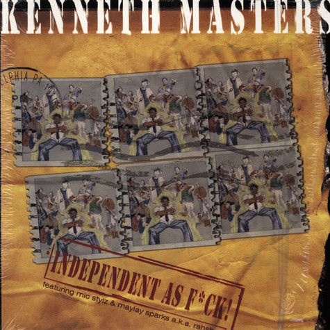 Kenneth Masters - Indepentent as fuck EP