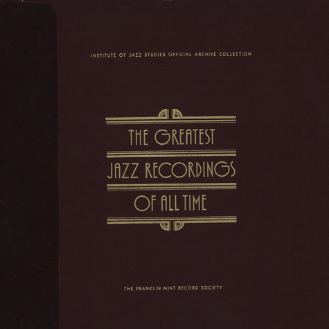 V.A. - The Greatest Jazz Recordings Of All Time - Jazz Strings