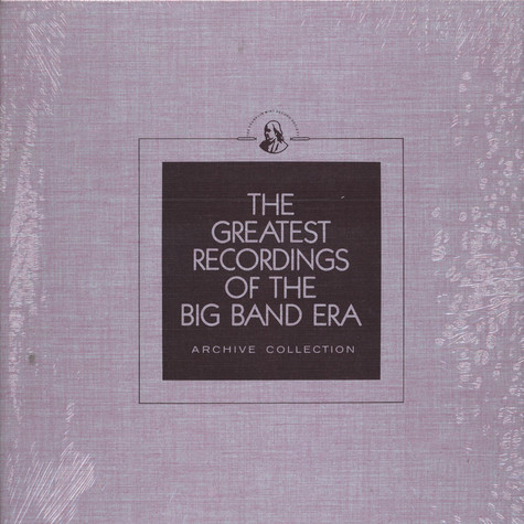 V.A. - The Greatest Recordings Of The Big Band Era - Bob Crosby Vol. 1 / Buddy Rich / Noble Sissle / Fred Waring