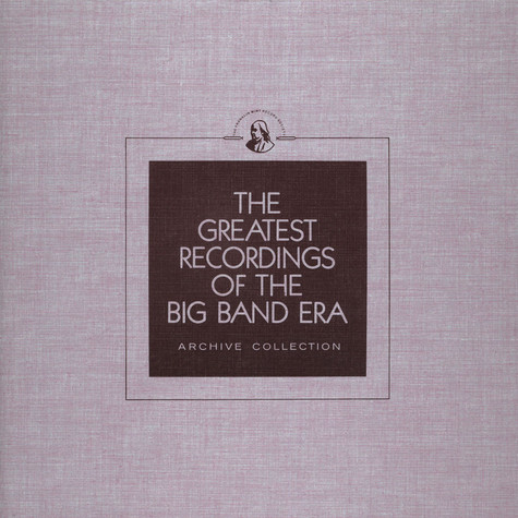V.A. - The Greatest Recordings Of The Big Band Era - Count Basie Vol. 1 (Early) / Charlie Spivak / Xavier Cugat