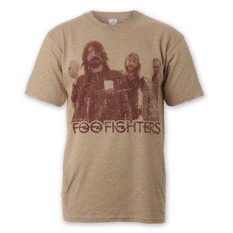 Foo Fighters - Distressed Group T-Shirt