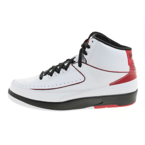 premium selection aa4f5 9447c Jordan Brand. Air Jordan 2 Retro QF (White   Black   Varsity Red)