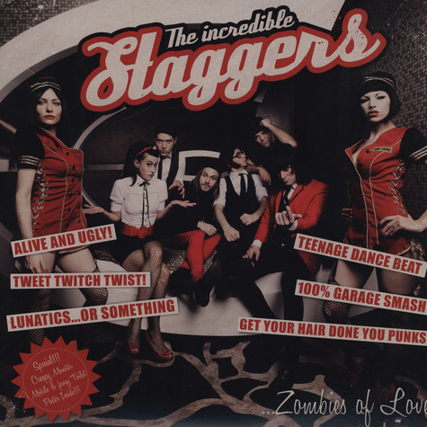 Incredible Staggers, The - Zombies Of Love