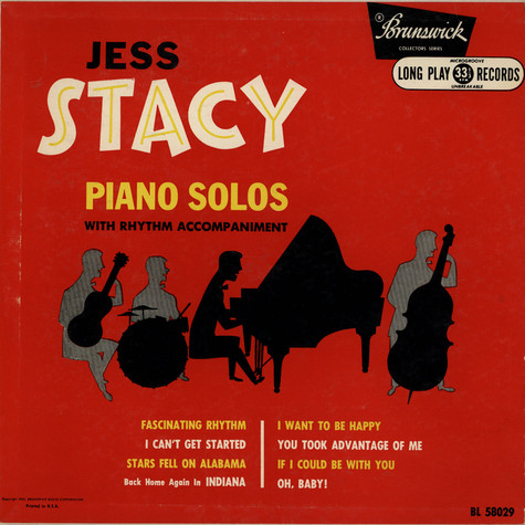 Jess Stacy - Piano Solos