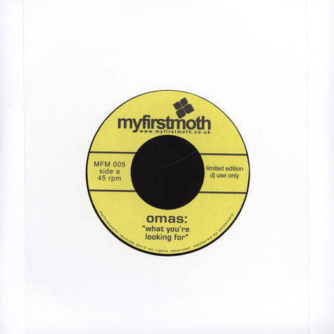 Omas - What You're Looking For / I'm So Dizzy