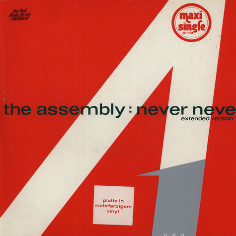 Assembly, The - Never Never (Extended Version)
