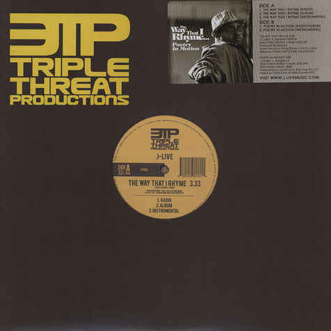 J-Live - The Way That I Rhyme Feat. Boog Brown