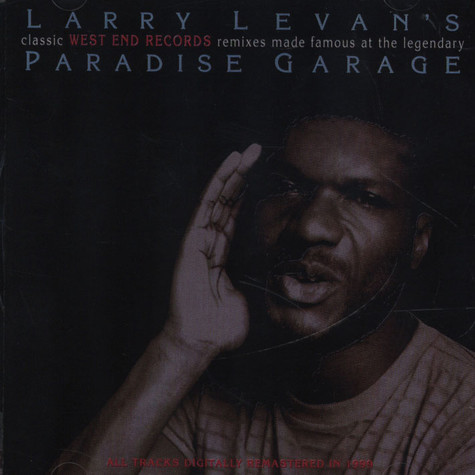 V.A. - Larry Levan Recorded Live At The Legendary Paradise Garage
