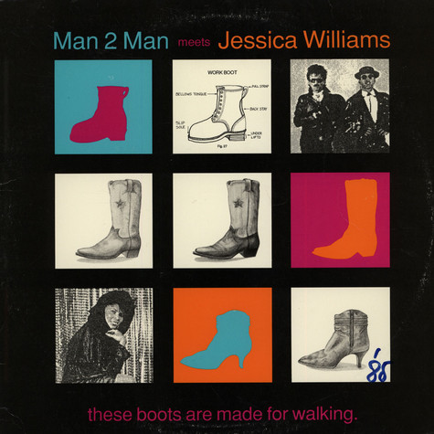 Man 2 Man Meets Jessica Williams - These Boots Are Made For Walking